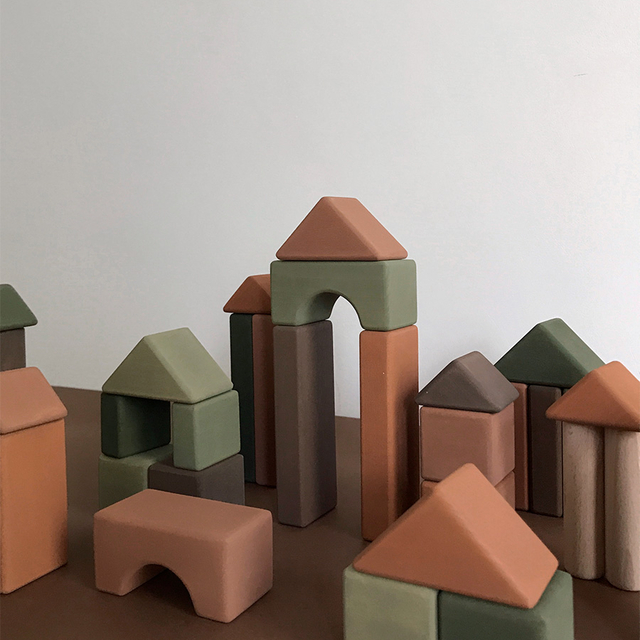 Castle Building blocks / Olive