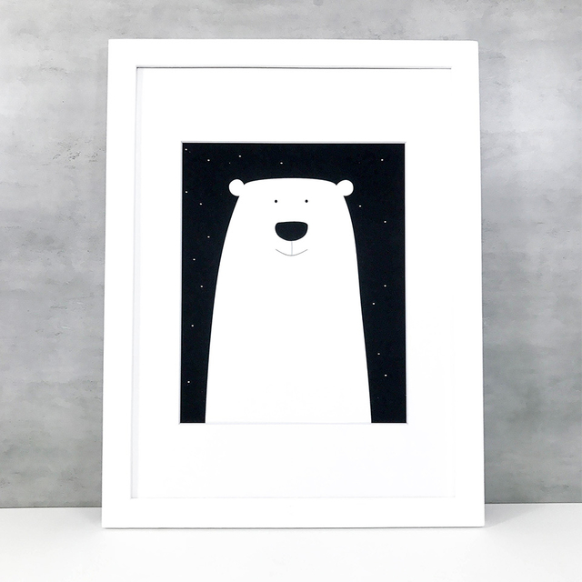 Poster / Friendly Bear