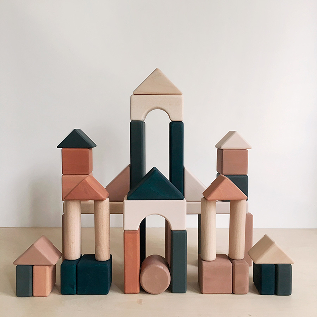 Castle Building blocks / Multi-coloured